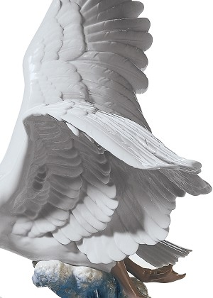 Lladro Majestic SwanPorcelain Figurine