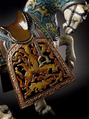 Lladro Oriental Horse - GlazedPorcelain Figurine