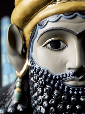Lladro LamassuPorcelain Figurine