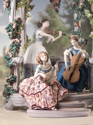 Lladro Summertime SymphonyPorcelain Figurine