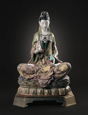 Lladro Kwan YinPorcelain Figurine