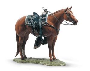 Lladro Quarter HorsePorcelain Figurine