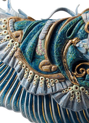 Lladro Winged fantasy WomanPorcelain Figurine