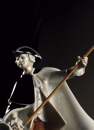 Lladro Gondola in VenicePorcelain Figurine
