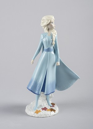 Lladro  Elsa From The Disney Movie Frozen