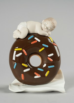 Lladro My Sweet Love Baby BoyPorcelain Figurine