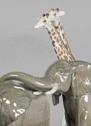 Lladro African Savannah Wild AnimalsPorcelain Figurine