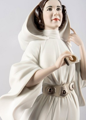 Lladro Princess Leia's New Hope From The Movie Star Wars