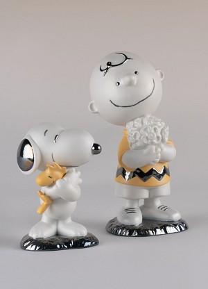 Lladro Charlie Brown Figurine
