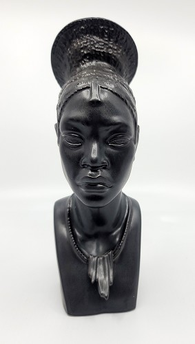 Lladro  HEAD OF CONGOLESE WOMAN