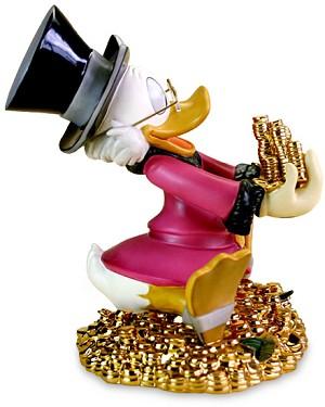 WDCC Disney ClassicsScrooge McDuck Money! Money! Money!
