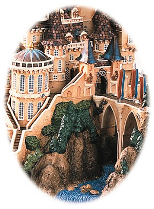 WDCC Disney Classics Beauty And The Beast Beast's Castle