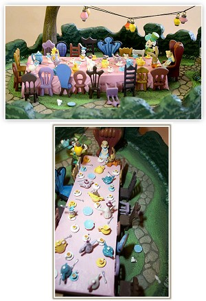 WDCC Disney Classics Alice In Wonderland Alice's Tea Party