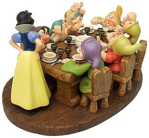 WDCC Disney Classics  Snow White And The Seven Dwarfs Soup's On