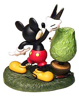 WDCC Disney ClassicsMickey Cuts Up Mickey Mouse A Little Off The Top