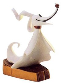 WDCC Disney Classics The Nightmare Before Christmas Zero Spirited Companion