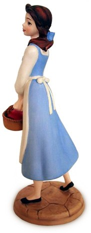 WDCC Disney Classics Beauty And The Beast Belle In Blue Dress Dreaming Of A Great Wide Somewhere