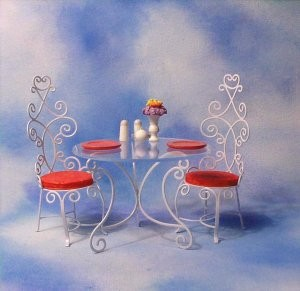 WDCC Disney ClassicsMary Poppins Table and Chairs Accessory Set A Magical Setting