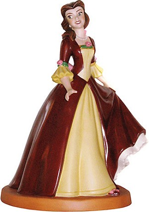 WDCC Disney Classics Beauty And The Beast Belle The Gift Of Love
