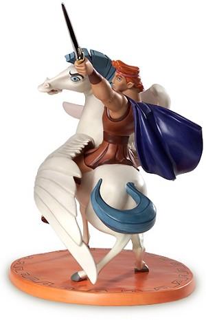 WDCC Disney Classics Hercules And Pegasus Defiant