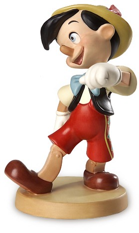 WDCC Disney Classics Pinocchio Lookout World