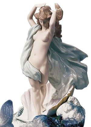Lladro The Birth of VenusPorcelain Figurine