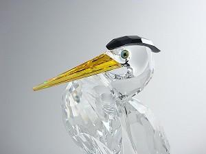 SwarovskiSwarvoski Crystal Silver Heron
