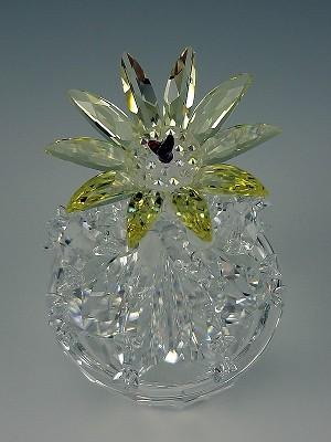 Swarovski Crystal Flowering Cactus