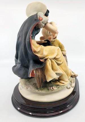 Giuseppe Armani Snow White Kissing Dopey Artist Proof (slight flaw)