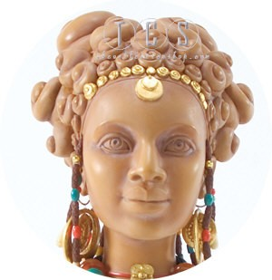 Ebony Visions Terracotta Princess Faces Of Beauty