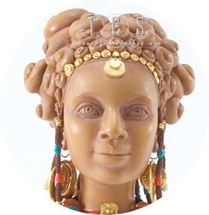 Ebony VisionsTerracotta Princess Faces Of Beauty