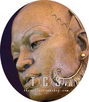 Thomas Blackshear LegendsRomanceMixed Media Sculpture