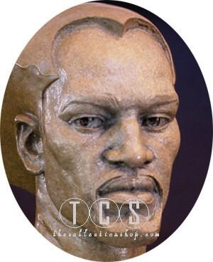 Thomas Blackshear LegendsRememberingMixed Media Sculpture