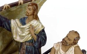 Lladro Jesus In Tiberius Le1200 1984-CPorcelain Figurine