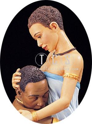 Ebony VisionsCherished Hand Signed By Thomas Blackshear