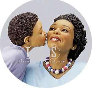 Ebony VisionsPlanting A Kiss