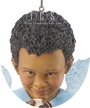 Ebony VisionsPuppy Love 2007 Ornament