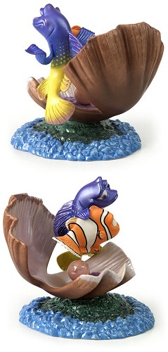 WDCC Disney Classics Finding Nemo And Gurgle Im From The Ocean