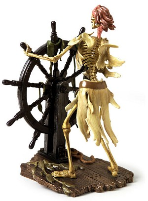WDCC Disney Classics Pirates Of The Caribbean Helmsman Pirate It Be Too Late To Alter Course