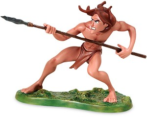 WDCC Disney Classics Tarzan And Sabor Untamed