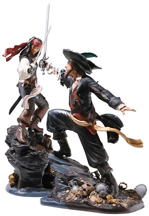 WDCC Disney Classics Pirates Of The Caribbean Captain Jack Sparrow