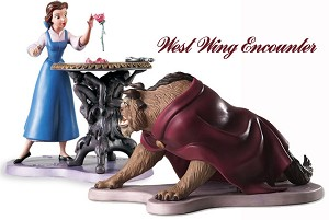 WDCC Disney Classics Beauty And The Beast Belle Forbidden Discovery