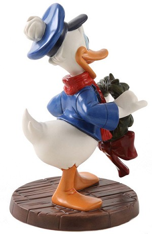 WDCC Disney ClassicsMickeys Christmas Carol Donald Duck Festive Fellow