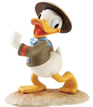 WDCC Disney Classics Good Scouts Donald Duck Happy Camper