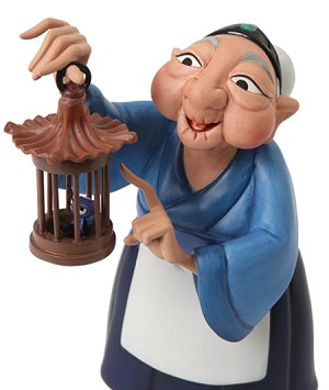 WDCC Disney Classics Mulan Grandma Fa And Cri Kee Ive Got All The Luck We Need