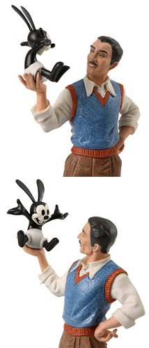 WDCC Disney Classics Walt Disney And Oswald True Originals