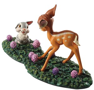 WDCC Disney Classics Bambi Meets Thumper Just Eat The Blossoms. Thats The Good Stuff