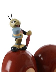 WDCC Disney Classics Pinocchio And Jiminy Cricket Anytime You Need Me, You Know, Just Whistle!