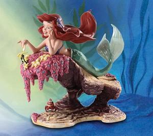 WDCC Disney Classics The Little Mermaid Ariel and Sebastian He Loves Me, He Loves Me Not