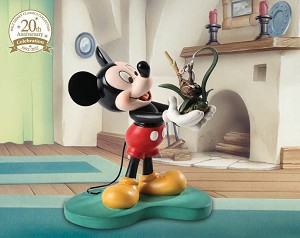 WDCC Disney Classics Walt Disney Classics Collections 20th Anniversary Mickey It All Started with a Field Mouse